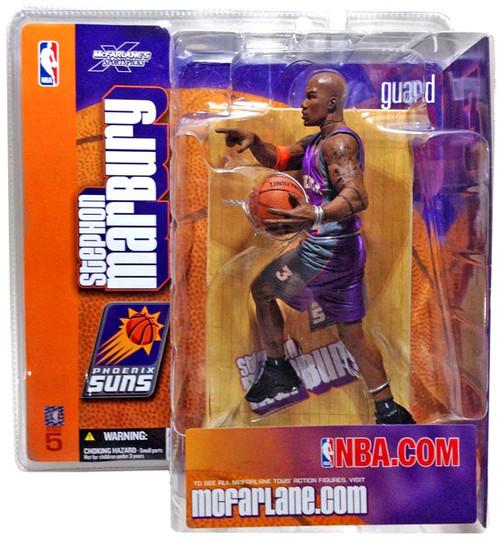 McFarlane Toys NBA Phoneix Suns Sports Picks Series 5 Stephon Marbury Action Figure [Purple Jersey Variant]