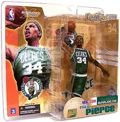 McFarlane Toys NBA Boston Celtics Sports Picks Series 3 Paul Pierce Action Figure [Green Jersey]