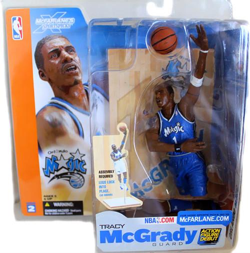 McFarlane Toys NBA Orlando Magic Sports Picks Series 2 Tracy McGrady Action Figure [Blue Jersey Variant]