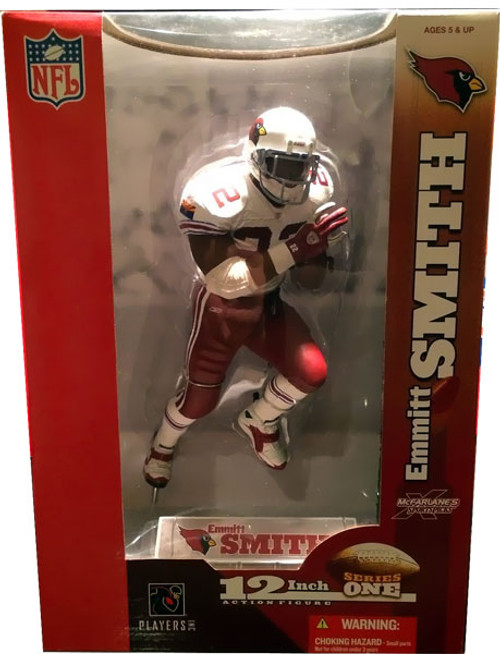 McFarlane Toys NFL Arizona Cardinals Sports Picks 12 Inch Deluxe Emmitt Smith Action Figure [White Jersey]