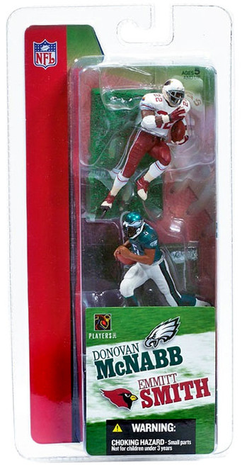 McFarlane Toys NFL Philadelphia Eagles / Arizona Cardinals Sports Picks 3 Inch Mini Series 1 Donovan McNabb & Emmitt Smith Mini Figure 2-Pack 2-Pack