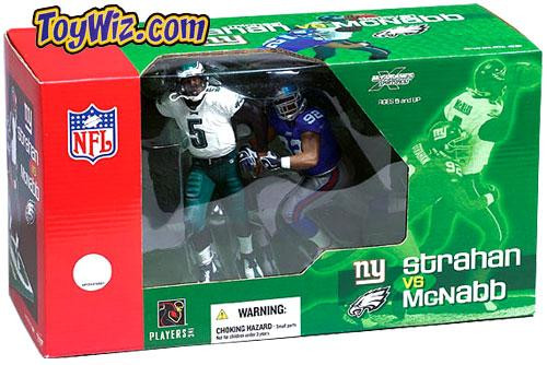 McFarlane Toys NFL Philadelphia Eagles / New York Giants Sports Picks Donovan McNabb & Michael Strahan Action Figure 2-Pack