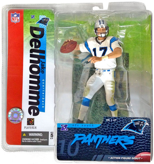 McFarlane Toys NFL Carolina Panthers Sports Picks Series 10 Jake Delhomme Action Figure [White Jersey]