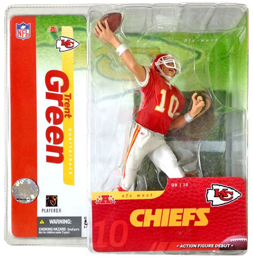 McFarlane Toys NFL Kansas City Chiefs Sports Picks Series 10 Trent Green Action Figure [Red Jersey]