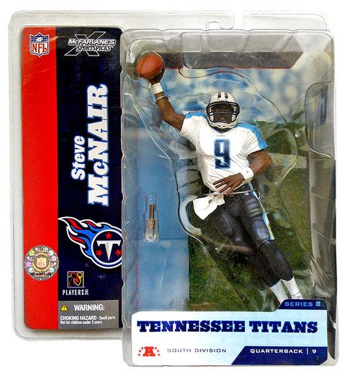 McFarlane Toys NFL Tennessee Titans Sports Picks Series 8 Steve McNair Action Figure [White Jersey Variant]