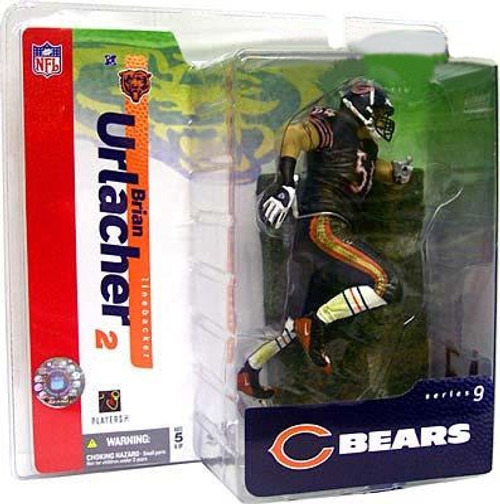 McFarlane Toys NFL Chicago Bears Sports Picks Series 9 Brian Urlacher Action Figure [Blue Jersey Blue Pants Variant]