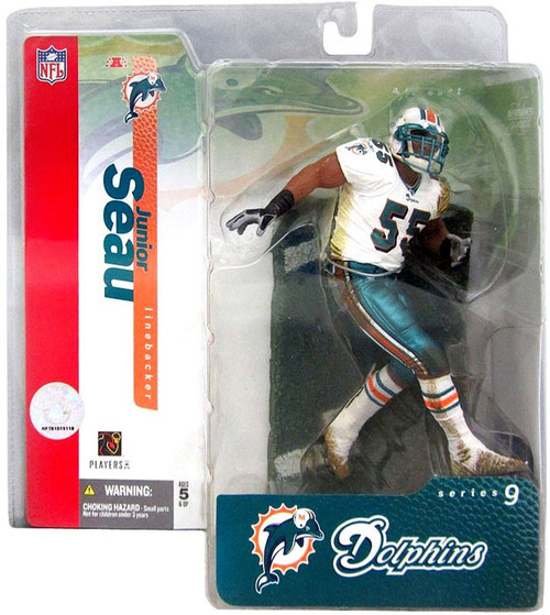 McFarlane Toys NFL Miami Dolphins Sports Picks Series 9 Junior Seau Action Figure
