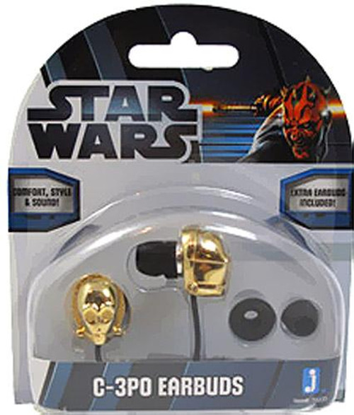 Star Wars Electronics C-3PO Earbuds