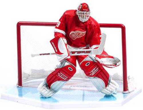 McFarlane Toys NHL Detroit Red Wings Sports Picks Series 7 Dominik Hasek Action Figure [Red Jersey]