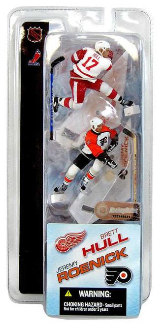 McFarlane Toys NHL Detroit Red Wings & Philadelphia Flyers Sports Picks 3 Inch Mini Series 1 Brett Hull & Jeremy Roenick Mini Figure 2-Pack