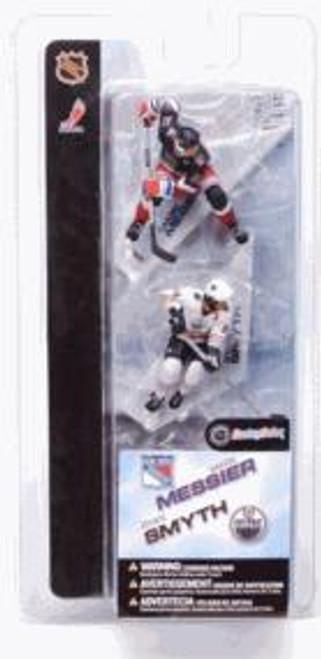 McFarlane Toys NHL New York Rangers & Edmonton Oilers Sports Picks 3 Inch Mini Series 2 Mark Messier & Ryan Smyth Mini Figure 2-Pack
