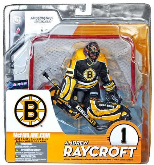 McFarlane Toys NHL Boston Bruins Sports Picks Series 9 Andrew Raycroft Action Figure [Black Jersey]