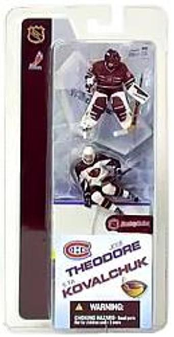 McFarlane Toys NHL Montreal Canadiens & Atlanta Thrashers Sports Picks 3 Inch Mini Series 2 Jose Theodore & Ilya Kovalchuk Mini Figure 2-Pack