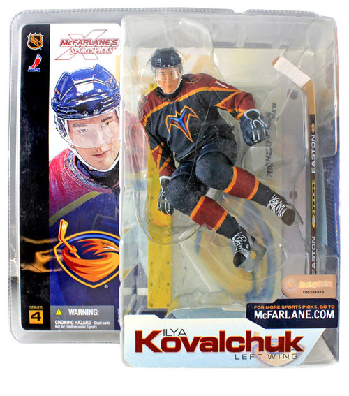McFarlane Toys NHL Atlanta Thrashers Sports Picks Series 4 Ilya Kovalchuk Action Figure [Blue Jersey]