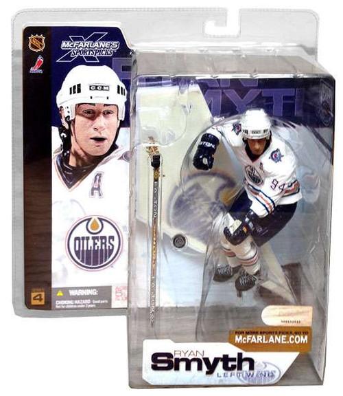 McFarlane Toys NHL Edmonton Oilers Sports Picks Series 4 Ryan Smyth Action Figure [White Jersey]