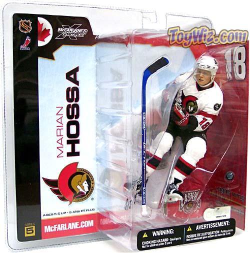 McFarlane Toys NHL Ottawa Senators Sports Picks Series 5 Marian Hossa Action Figure [White Jersey]