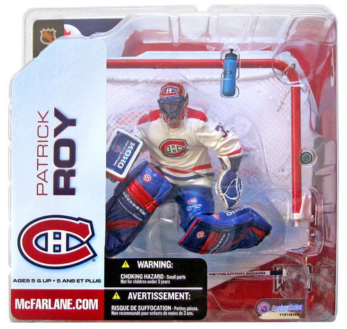 McFarlane Toys NHL Montreal Canadiens Sports Picks Series 5 Patrick Roy Action Figure [White Jersey]