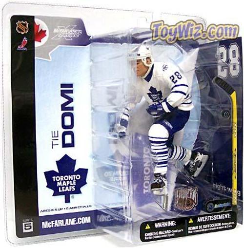 McFarlane Toys NHL Toronto Maple Leafs Sports Picks Series 5 Tie Domi Action Figure [White Jersey]