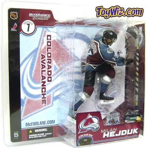 McFarlane Toys NHL Colorado Avalanche Sports Picks Series 7 Milan Hejduk Action Figure [Maroon Jersey Variant]