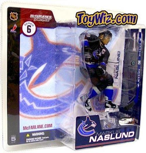 McFarlane Toys NHL Vancouver Canucks Sports Picks Series 6 Markus Naslund Action Figure [Black Jersey]