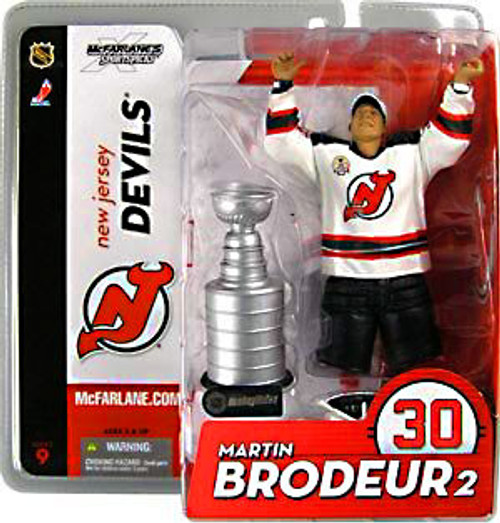 McFarlane Toys NHL New Jersey Devils Sports Picks Series 9 Martin Brodeur Action Figure [White Jersey]