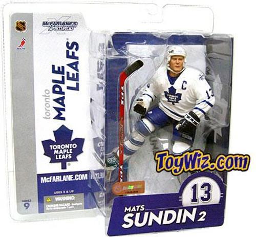 McFarlane Toys NHL Toronto Maple Leafs Sports Picks Series 9 Mats Sundin Action Figure [White Jersey]