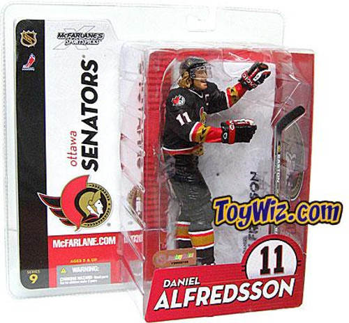 McFarlane Toys NHL Ottawa Senators Sports Picks Series 9 Daniel Alfredsson Action Figure [Black Jersey]