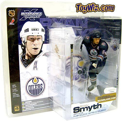 McFarlane Toys NHL Edmonton Oilers Sports Picks Series 4 Ryan Smyth Action Figure [Blue Jersey Variant]