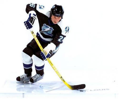 McFarlane Toys NHL Tampa Bay Lightning Sports Picks Series 10 Martin St. Louis Action Figure [Black Jersey]