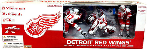 McFarlane Toys NHL Sports Picks Exclusive 3-Pack Detroit Red Wings Exclusive Action Figure 3-Pack