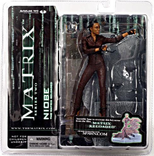 McFarlane Toys The Matrix Matrix Reloaded Series 2 Niobe Action Figure