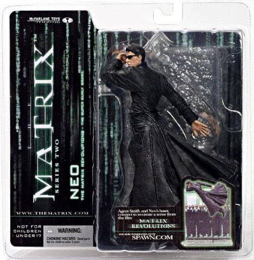 McFarlane Toys The Matrix Matrix Revolutions Series 2 Neo Action Figure [Burly Brawl]