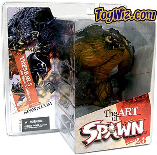 McFarlane Toys Series 26 The Art of Spawn Tremor 3 The Spawn Bible Action Figure