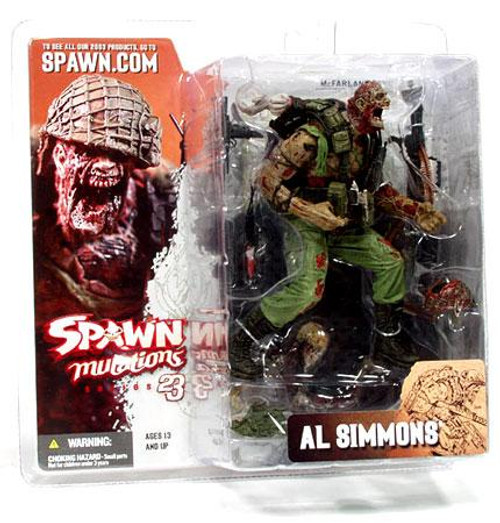 McFarlane Toys Spawn Series 23 Mutations Al Simmons Action Figure