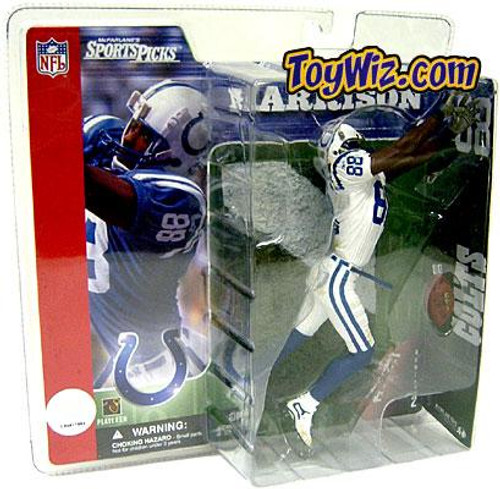 McFarlane Toys NFL Indianapolis Colts Sports Picks Series 2 Marvin Harrison Action Figure [White Jersey Variant]