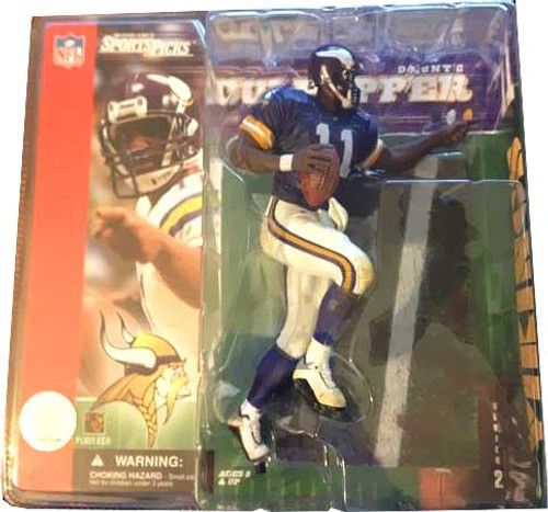 McFarlane Toys NFL Minnesota Vikings Sports Picks Series 2 Daunte Culpepper Action Figure [Purple Jersey Variant]