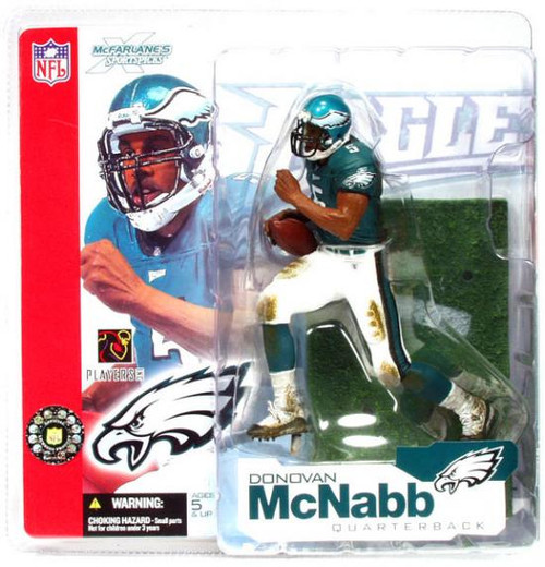McFarlane Toys NFL Philadelphia Eagles Sports Picks Series 4 Donovan McNabb Action Figure [Green Jersey]