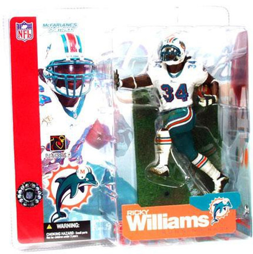 McFarlane Toys NFL Miami Dolphins Sports Picks Series 4 Ricky Williams Action Figure