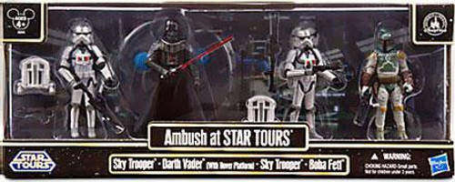 Star Wars Exclusives 2013 Ambush at Star Tours Exclusive Action Figure