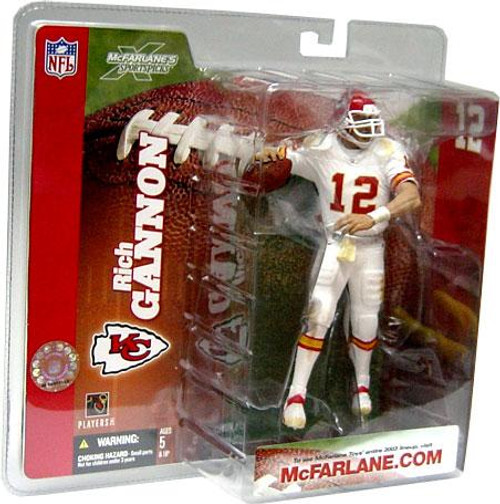 McFarlane Toys NFL Kansas City Chiefs Sports Picks Series 6 Rich Gannon Action Figure [Retro White Jersey Variant]