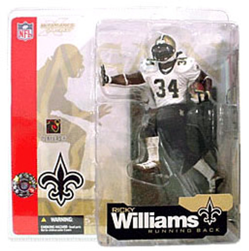 McFarlane Toys NFL New Orleans Saints Sports Picks Series 4 Ricky Williams Action Figure [Retro Variant]