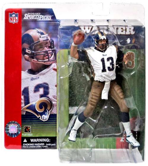 McFarlane Toys NFL St. Louis Rams Sports Picks Series 1 Kurt Warner Action Figure [White Jersey Dirty Variant]