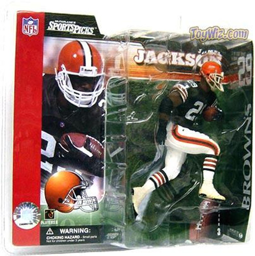 McFarlane Toys NFL Cleveland Browns Sports Picks Series 3 James Jackson Action Figure