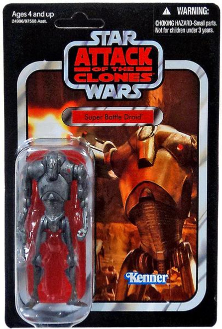 Star Wars Attack of the Clones Vintage Collection 2010 Super Battle Droid Action Figure #37