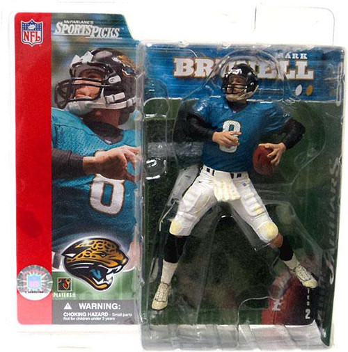 McFarlane Toys NFL Jacksonville Jaguars Sports Picks Series 2 Mark Brunell Action Figure [Teal Jersey]