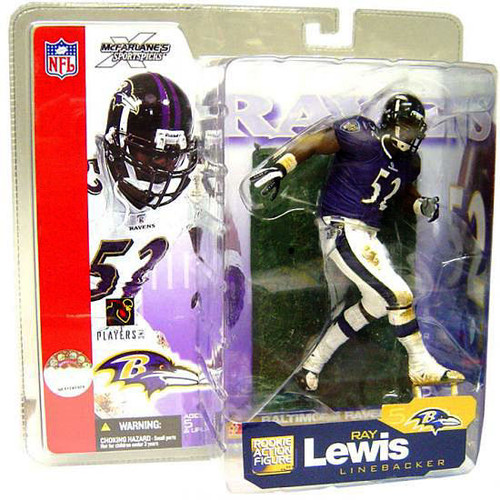 McFarlane Toys NFL Baltimore Ravens Sports Picks Series 5 Ray Lewis Action Figure [Purple Jersey Variant]