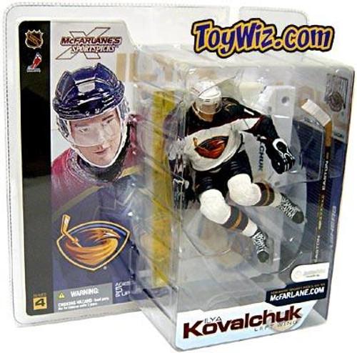 McFarlane Toys NHL Atlanta Thrashers Sports Picks Series 4 Ilya Kovalchuk Action Figure [White Jersey Variant]