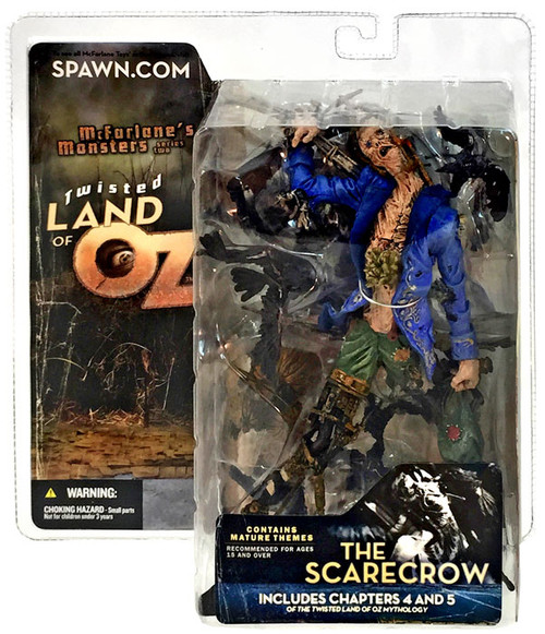 McFarlane Toys McFarlane's Monsters Twisted Land of Oz The Scarecrow Action Figure