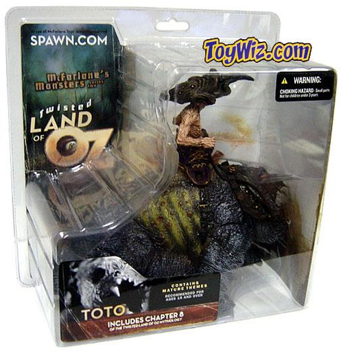 McFarlane Toys McFarlane's Monsters Twisted Land of Oz Toto Action Figure