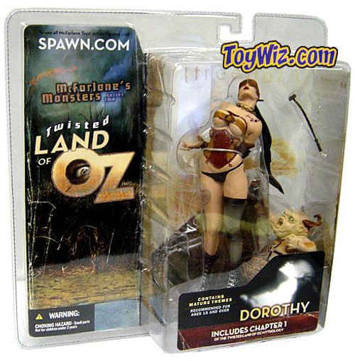 McFarlane Toys McFarlane's Monsters Twisted Land of Oz Dorothy Action Figure